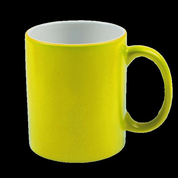 dosublimacji.pl -  Kubek NEON żółty