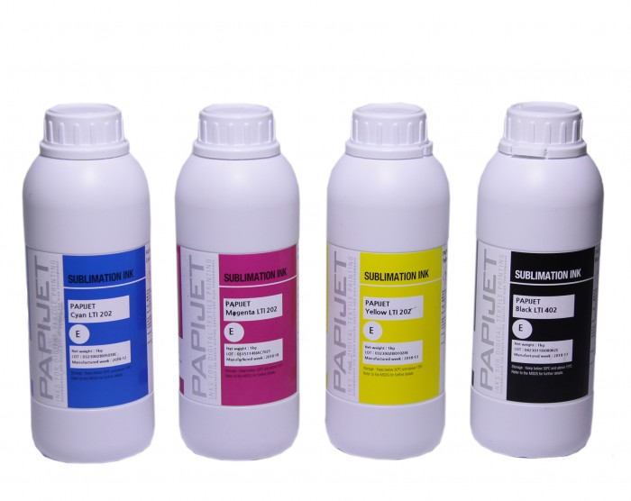 dosublimacji.pl -  PAPIJET LTI Sublimationstinte Set 4 x 1000 ml CMYK