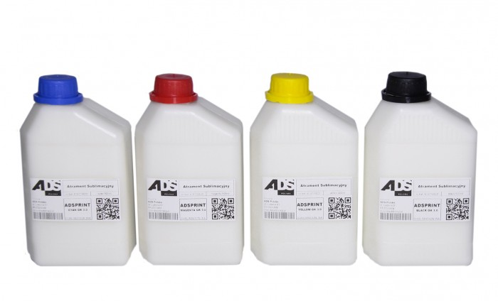 dosublimacji.pl -  Sublimationstinten-Set 4 x 100 ml CMYK