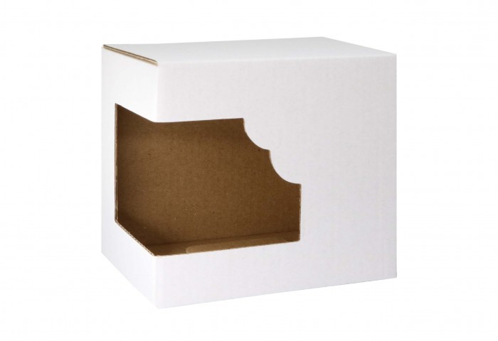 dosublimacji.pl - Paper box for a mug with a window