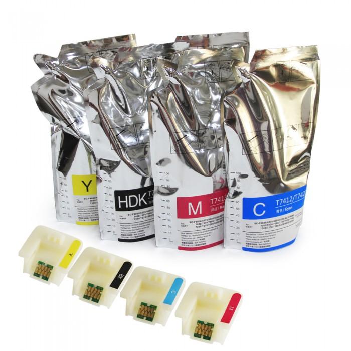 dosublimacji.pl -  Tusz F-Sure-Color Professional Ink 1000 ml Cyan